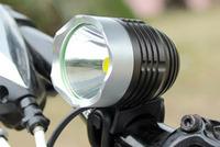 Waterproof 10W 1200LM CREE XML T6 Aluminum LED Light power bicycle lights headlights