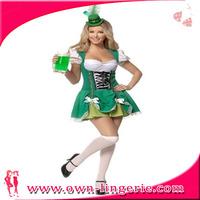Luck of the Irish costume green dress costume for naughty girl