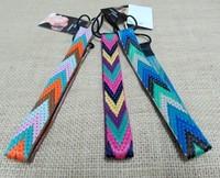 Wholesale and Retail fashion bohemian arrow Elastic hair band fabric headband 3cm width 12pcs/lot