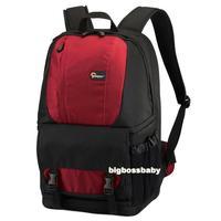 "Genuine Lowepro Fastpack 250 DSLR Camera Photo 15"" Laptop Bag Backpack Rucksack for Canon Nikon Waterproof + Rain Cover Red"