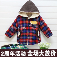 2013 wadded jacket cotton-padded jacket baby winter clothing autumn and winter thickening outerwear cotton-padded jacket 5388