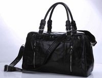 New 2013 Genuine leather Luggage Bags High-grade Business luggage & travel bags Real Genuine leather travel handbag bags for men