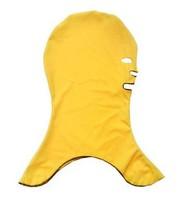 Wigs aureateness pullover sunscreen face mask anti-uv swimming cap