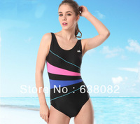 Free shipping women's one-piece swimsuit neoprene short girls surf clothes Professional famale diving suit