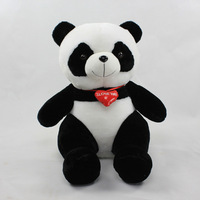 Retail Kids Panda Plush Animal Toy Sitting Height 30cm