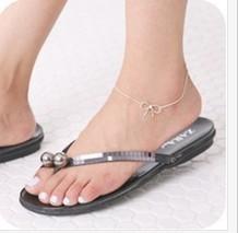 A2 ножные браслеты посеребренные вырез с бантом браслеты женщины ножные браслеты ...