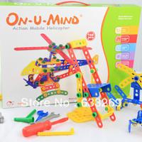 DD&SS Tools Blocks DIY Toys Helicoper 168pcs Green & Save Plastic Kids Toys GT-2288 Free Shipping