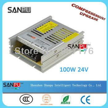 3pcs/lot 24V 100W Switching led Power Supply,100~240V AC input 24V DC output