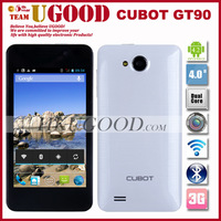 Freeshipping! Cubot GT90 MTK6572 1.3Ghz Dual Core Cheap Android phone Dual Camera 5.0Mp+2.0Mp 4.0inch Screen In Stock!