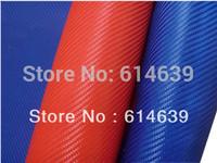 Imitate carbon fabrics,3K twill weave,blue/red, 300/sqm, fiberglass fabrics/cloth, width can be ordered. Good Quality