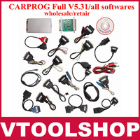 2013 (wholesale/retail) CARPROG Full V5.31 programmer car prog all softwares free shipping