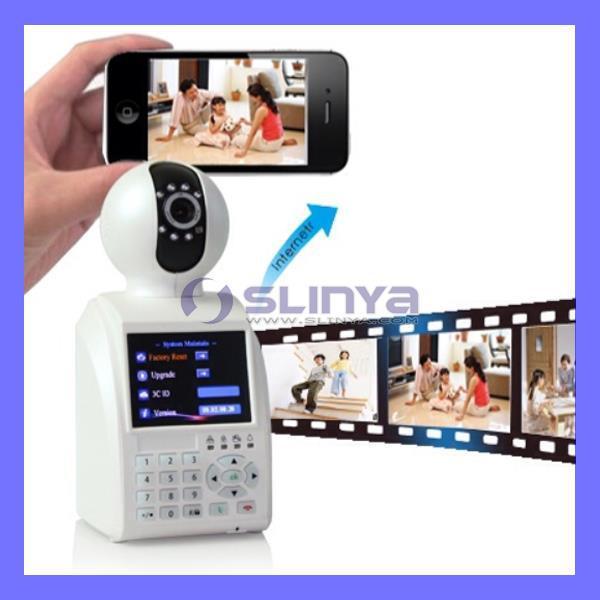 réseau de téléphonie cctv caméra vedio caméra ip wifi sans fil bébé moniteur