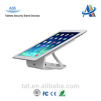 Security IPAD Display stand with alarm