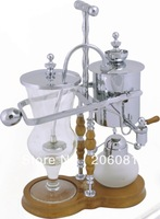 Luxury Belgian royal siphon coffee maker/royal balancing  syphon coffee maker with top quality in china,perfect chrsitmas gift