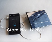 HOT Sale! 2W 6V Solar Panel Charger Solar Charger Polycrystalline Solar Cell Panel Solar Mobile Charger Free Shipping