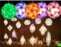 wholesale free shipping iq puzzle lamp iq jigsaw lights Medium size 300pcs per lot