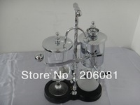 Luxury Silvery Balancing roayl syphon coffee maker/Siphon coffee maker /Tea pot with top quality ,perfect chrsitmas gift
