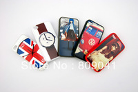 Best Rubber TPU+PC sublimation blank case for iphone 4 4S with  metal sheet with glue 800pcs/lot  free shpping