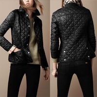 2013 autumn and winter women turtleneck short design slim down coat wadded cotton-padded jacket outerwear slim High Quality Coat