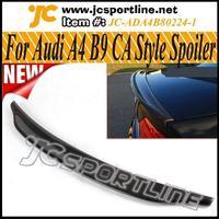 2013 CA look A4 B9 Carbon fiber Car spoiler,C Style Trunk wing lip Rear spoiler For Audi A4 ,Fits: 2013 A4 B9 Sedan Facelift