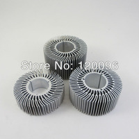 20 PCS/lot D70mm H40mm LED Heat Sink radiator for 5W 6W 7W 9W LED lamp DIY LED accessories
