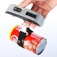 NEW Portable 50kg 110lb  10g LCD Digital Hanging Luggage Weight Electronic Hook Scale