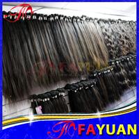 Fayuan hair: Milky way100% virgin mongolian hair weave bundles, straight hair 3 pcs lot,natural color tangle and shed free