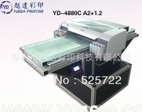 Multifunctional digital flatbed plastic sheet printer