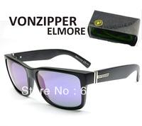 Retail WITH VZ PACKS Vonzipper Sunglasses ELMORE GOGGLES Cycling Sport shades Von zipper Outdoor Cool Sun glasses Brand men