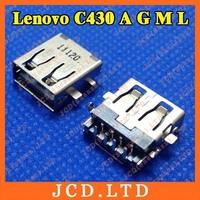 For Lenovo C430 A G M L Laptop USB Jack,Copper down,H:3.5mm