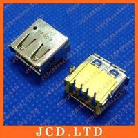 Original New Common Laptop USB Jack,Yellow,Copper UP