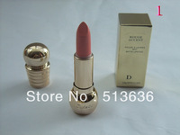 Free shipping 2pcs/lot D Lipstick Rouge Accent MATTE Lipstick High Quality15 Different Color Lipstick Make up TOOL