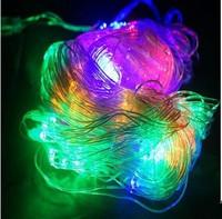 220V IP65 1.5 * 1.5 120 LED christmas lights multicolor optional, Glue waterproof outdoor net lights string lights