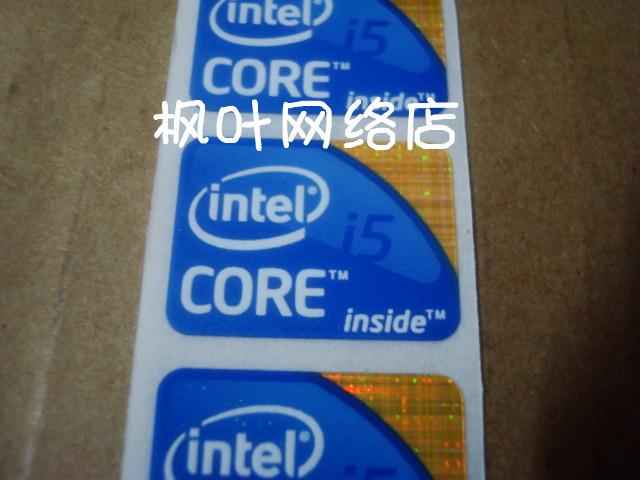 Intel Generation Stickers Intel Core i5 Laptop Sticker