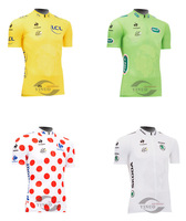 2013 NEW Hot Sales 100 Years Tour de France champion Short Sleeve Bike Riding Cycling Jersey Clothes wholesale Free shipping A+