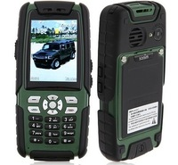 L8 Phone IP67 Walkietalkie Dual SIM Card Bluetooth TV FM Camera 2.6 Inch -Black&Green