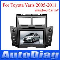 New System Car DVD TOYOTA YARIS GPS With Radio/TV/PIP/bluetooth For GPS TOYOTA YARIS DVD Car 2005 2006 2007 2008 2009 2010 2011