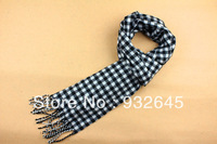 Free shipping! hot Fashion British men Winter Warm thickened lengthen Cashmere winter scarf,  plaid Scarves Shawl!