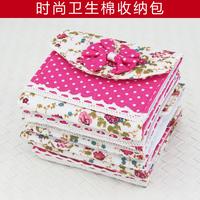 Fresh lace print fluid sanitary napkin bag sanitary napkin bags storage bag