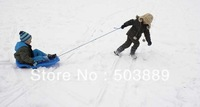 snow sledge ,can slide on sand ,grass, sled or snow board with the rope,can seat 2 kids together,snow skateboard