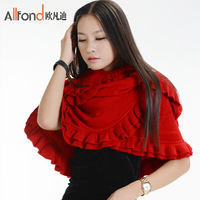 Free Shipping High Quality Knitting Scarves Shawls For Women Brand Solid Color Pashmina Stole Tippet Magic Scarf Winter Thick