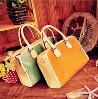 2013 Latest Explosion Models Fall Fashion Female Bag Spell Color Design Casual Fashion Factory Outlets 079