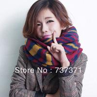 2013 Women Han Edition Of Fashion Popular Tiger Stripes Keep Warm Scarf Cappa