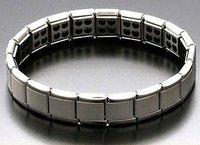 Free shipping!  Germanium Bracelet  Anti-fatigue   Titanium stainless steel bracelet 2pcs/lot