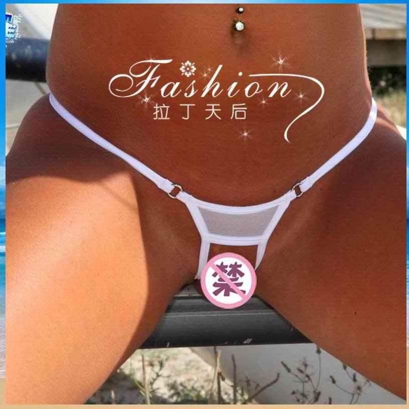 Babes bikini tanga anillo