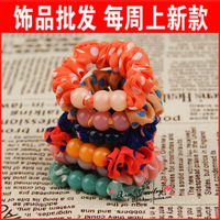Free Shipping Accessories hair accessory chiffon beaded headband chittering ring a27