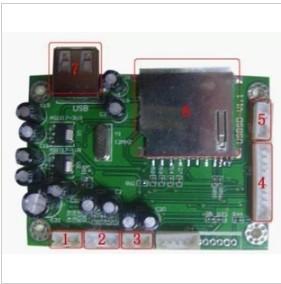25PCS lot U disk playback module Frequency response: 40Hz ~ 18KHz+ free shipping(China (Mainland))