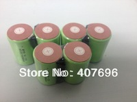 EMS   shipping   50pcs/lot      10C discharge rate 1500mAh 4/5 SubC 4/5 SC NiCD rechargeable cell with solder tags