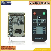Hot!  IR Car Vehicle DVR Module,car DVR Module,car black box Module,1-ch mini dvr module