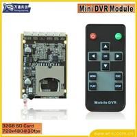 Hot!  IR Car Vehicle DVR Module,car DVR Module,car black box Module,1-ch mini dvr module